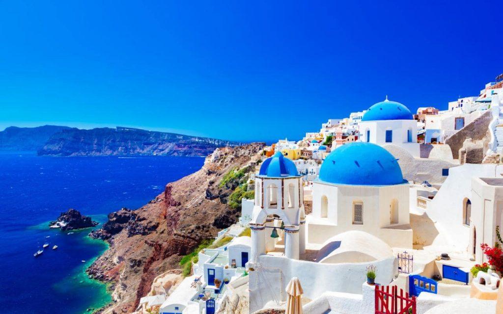 santorini wedding and vacations