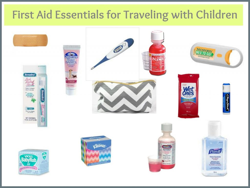 first aid travel kit kids