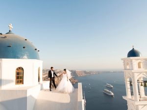 arab wedding santorini greece